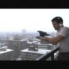 Jon Sasaki, Still from<em> 24 Lbs</em>, Video, 2006