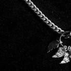 Jon Sasaki, Documentation of <em>Jon Sasaki's Best Friendship</em>, Artist's Personal Sterling Silver Necklace, 2006