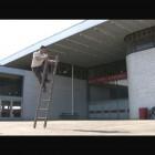 Jon Sasaki, Still from <em>Ladder Climb</em>, Video, 2006