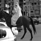 Bani Abidi, <em>The Ghost of Mohammad Bin Qasim</em>, digital print, 2005.