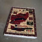 Jennifer Marman & Daniel Borins, Afghani Carpet, mixed media, 2007