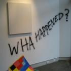 Jennifer Marman & Daniel Borins, installation view, Wha Happened?, 2007