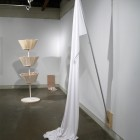 Kelly Lycan, installation detail, White Hot, 2009