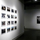 Louie Palu, installation image from Zhari-Panjwai: Dispatches from Afghanistan, 2007