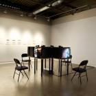 Robert Lendrum, <em>Impostor</em> and <em>Identity Profile: Robert</em>, video series & inkjet prints, installation view, 2006-8