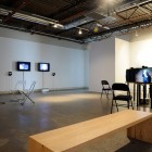 <em>This is uncomfortable</em>, installation view