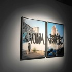 Eric Baudelaire, <em>Blind Walls (I Claim)</em>, chromogenic prints, plexiglass, 2007