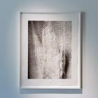 Eric Baudelaire, <em>Artforum XLVI #10 p.74 [sic], Yokohama, 2008</em>, heliogravure on rag paper, installation view, 2009