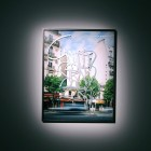 Eric Baudelaire, <em>Blind Walls (I Need)</em>, c-print, acrylic, paint, 2007