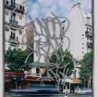 Eric Baudelaire, <em>Blind Walls (I Need)</em>, c-print, acrylic, paint diptych, 2007