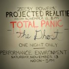 Zeesy Powers, front text for Zeesy Powers' Projected Realities, November 12, 2010, documentation by Henry Chan
