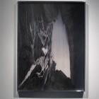 Davida Nemeroff, <em>Silver Mask (Gabriel)</em>, inkjet print, 2010, installation view