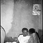 Eric Gottesman, photo directed by Tenanesh Kifyalew, <em>General Is Kissing The Girl</em>, inkjet print, 2004