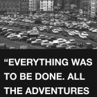 Luca Frei, Everything was to be done. All the adventures are still there, poster, 2007