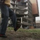 Paolo Canevari, still from <em>Bouncing Skull</em>, video, 2007.