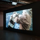 Linda Duvall, <em>The Toss</em>, installation view, 2012. Documentation by Morris Lum