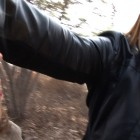Linda Duvall, <em>The Toss</em>, 2012, HD Video still, detail. Camera: Clark Ferguson