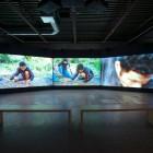 Mark Boulos, <em>No Permanent Address</em>, installation view, 2012. Documentation by Morris Lum