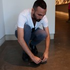 Francisco-Fernando Granados, <em> Diptich: Movement Study</em>, July 21, 2012, performance documentation by Morris Lum