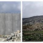 Lucas Mulder, <em>Two Walls in Palestine: Qalqilya, Yanun</em>,2003