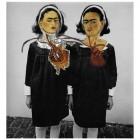 Sue Lloyd, <em>Kahlo/Arbus Twins</em>, 2012