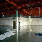 Robert Burley, <em>Interior of Building W3, Polaroid, </em>2009