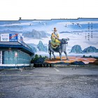 Morris Lum, <em>Lao Tsu Mural, Vancouver, </em>2013